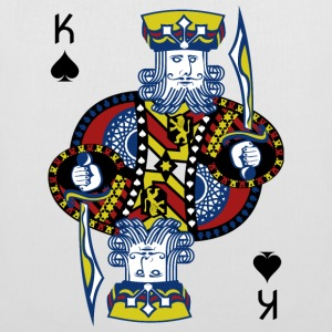 King of Spades Poker Hold'em - Tote Bag