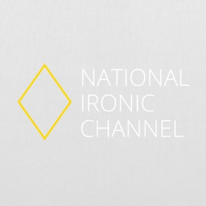 Ironisk National Channel - langærmet T-shirt - Mulepose