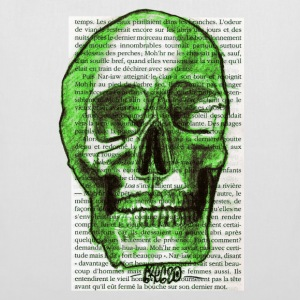 GREEN SKULL - Tote Bag