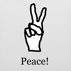 Peace! - Tote Bag