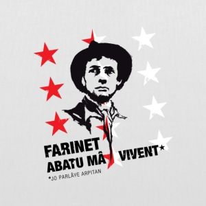 Farinet patois star Valais - Tote Bag