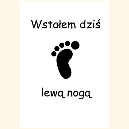 lewa noga - Torba materiałowa