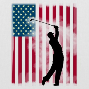 golf golfare bushen USA Team America flagga spor - Tygväska