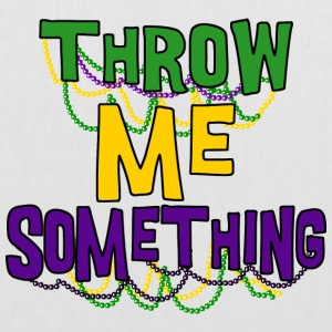 Mardi Gras Throw Me Something - Stoffveske