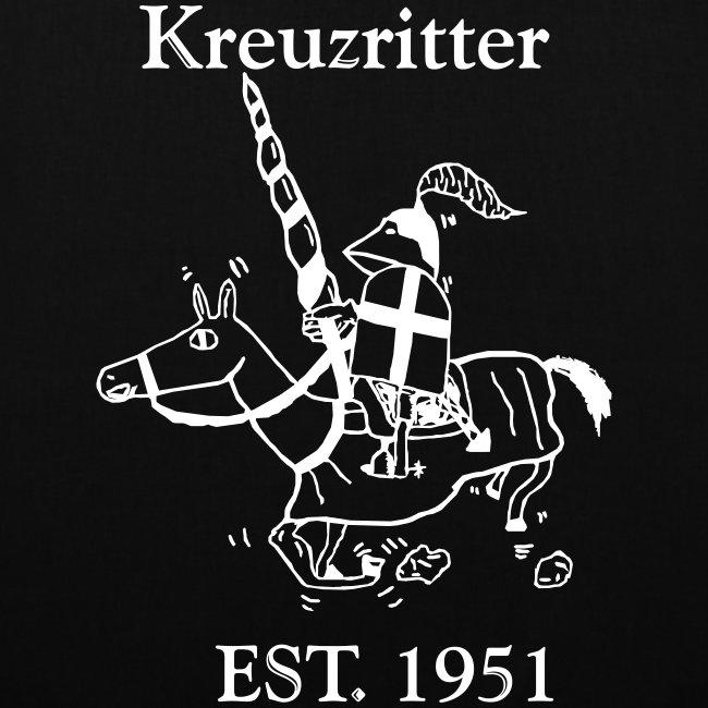 Kreuzritter Logo mit Schrift