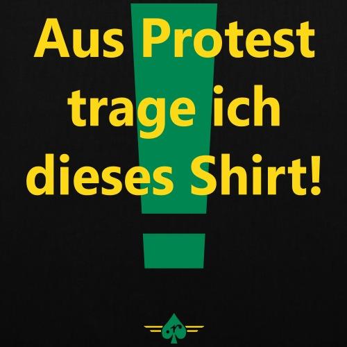 Protest (2col) - Stoffbeutel