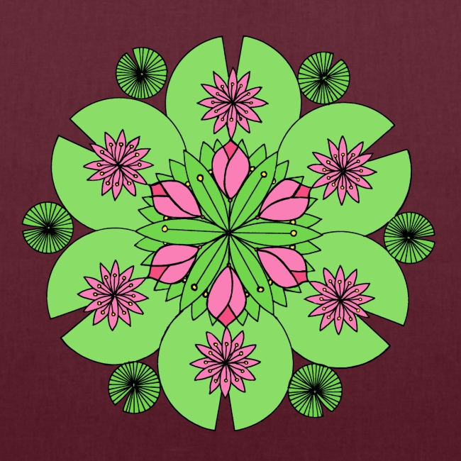 Pond Lotus Mandala