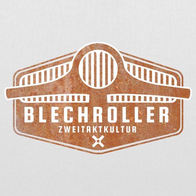 Blechroller Logo Grunge