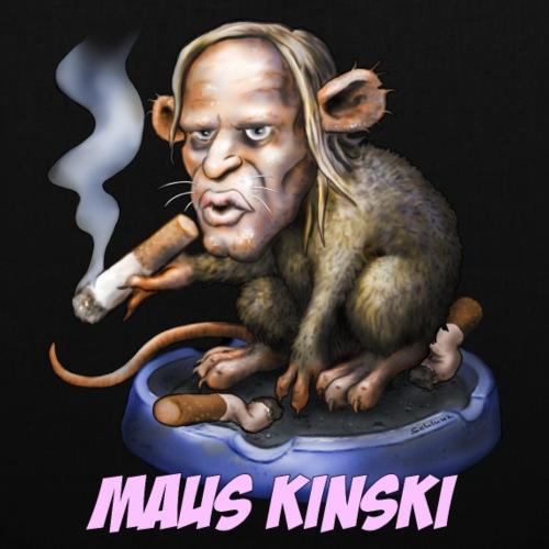 Maus Kinski - Stoffbeutel