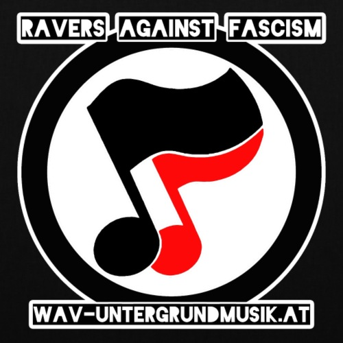 Ravers Against Fascism - Stoffbeutel