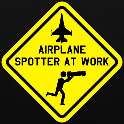 Spotter at work - Tas van stof