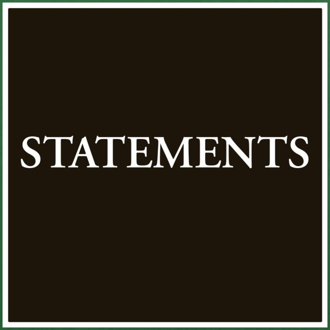 Statements EP Cover