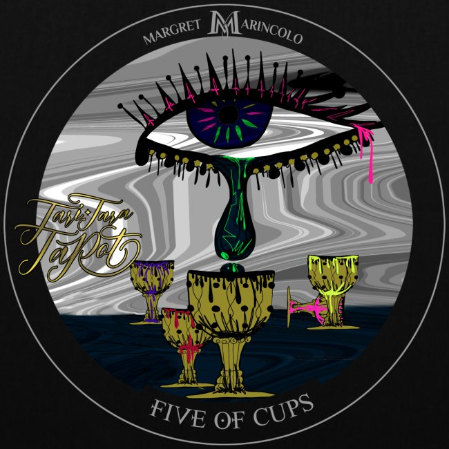 Five of Cups | Fünf der Kelche Tarot Karte