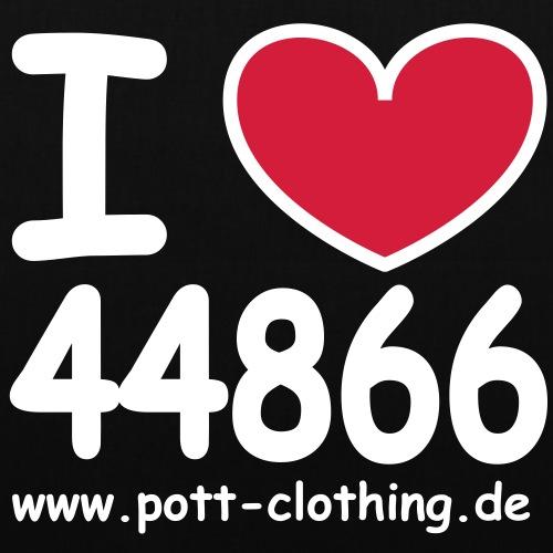 I LOVE 44866 - Stoffbeutel