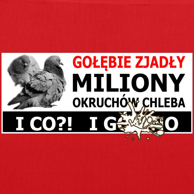 Gołębie zjadły Miliony - PIS wziął miliony