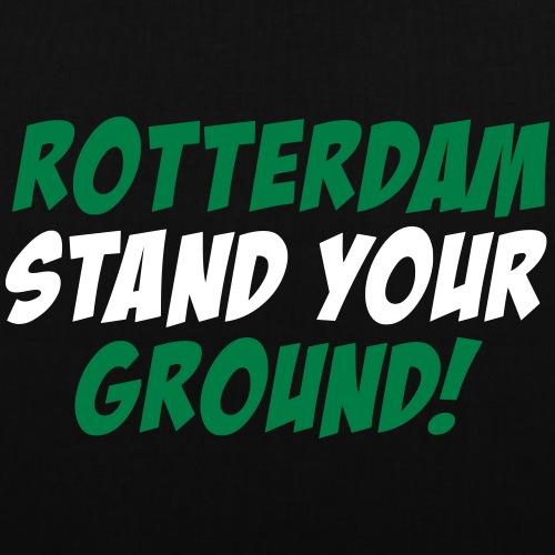 STAND YOUR GROUND - Tas van stof
