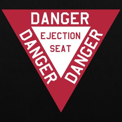 Danger ejectionseat - Tas van stof