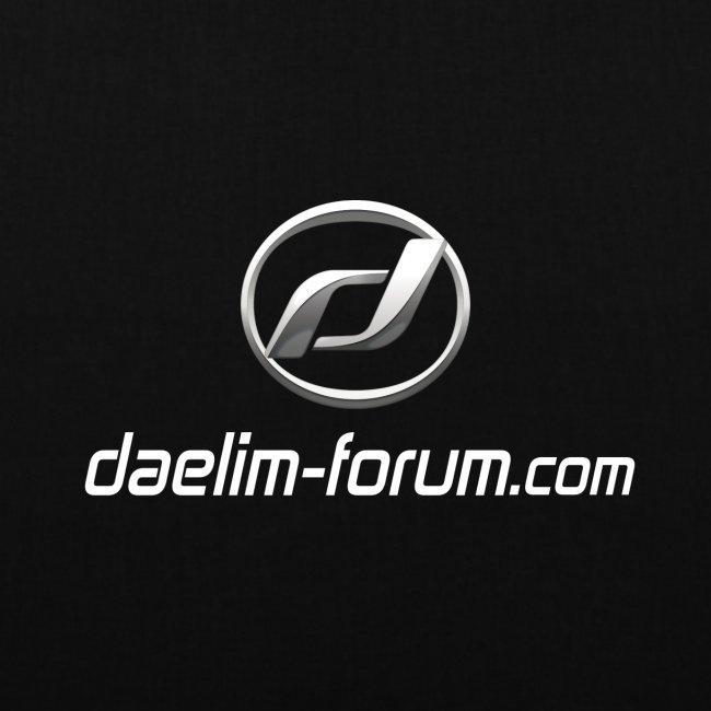 Daelim Logo und URL Taschen & Rucksäcke