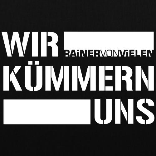 Rainer von Vielen - Wir kümmern uns - Hoodie - Stoffbeutel