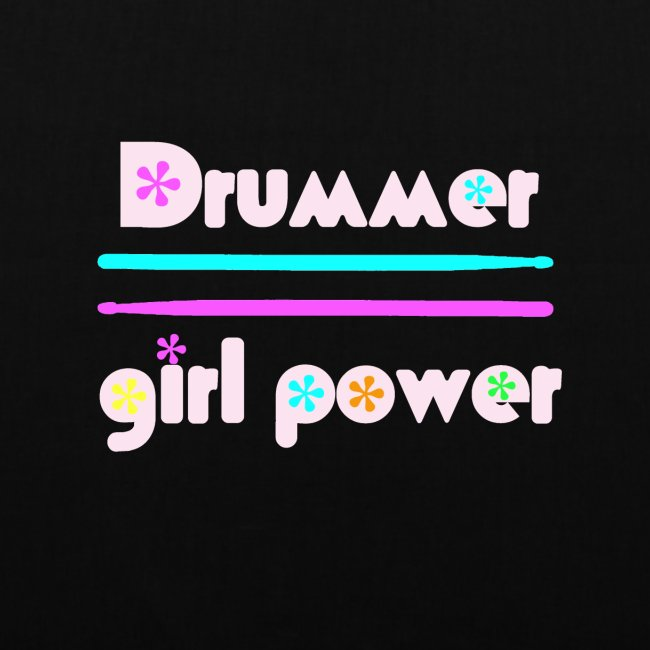 Drummer girlpower rose