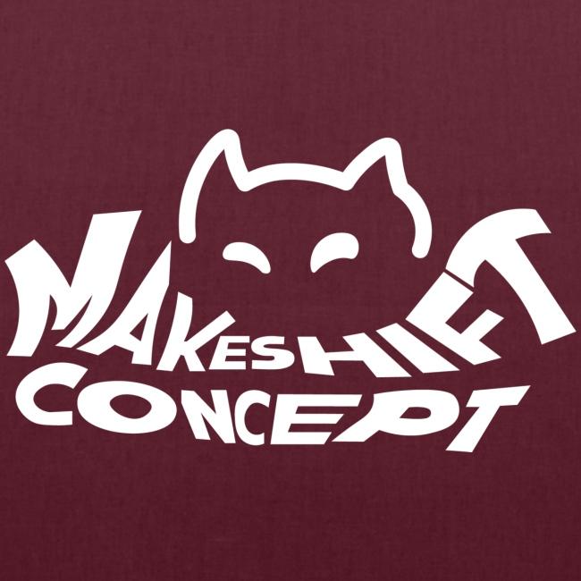 Makeshift Concept Cat Logo Weiß
