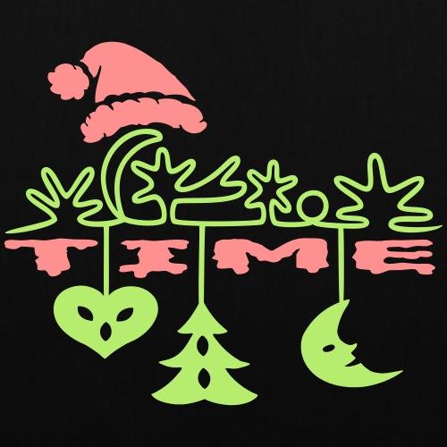 Pfefferkuchen Weihnachten Tannenbaum - Stoffbeutel