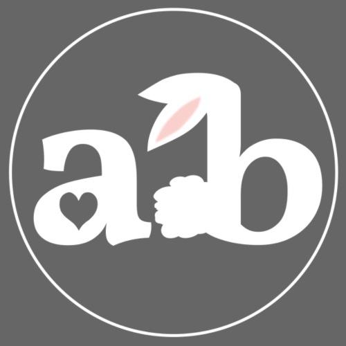 Amour the Bunny Logo White