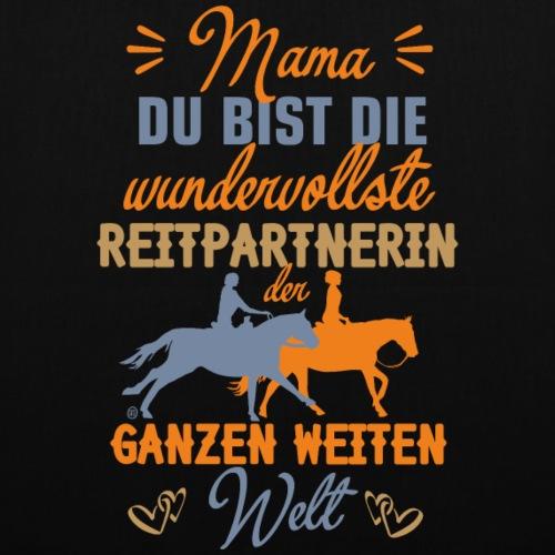Mama Reitpartnerin - Stoffbeutel