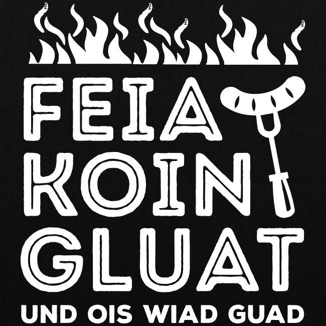 Vorschau: Feie Koin und Gluat - Stoffbeutel
