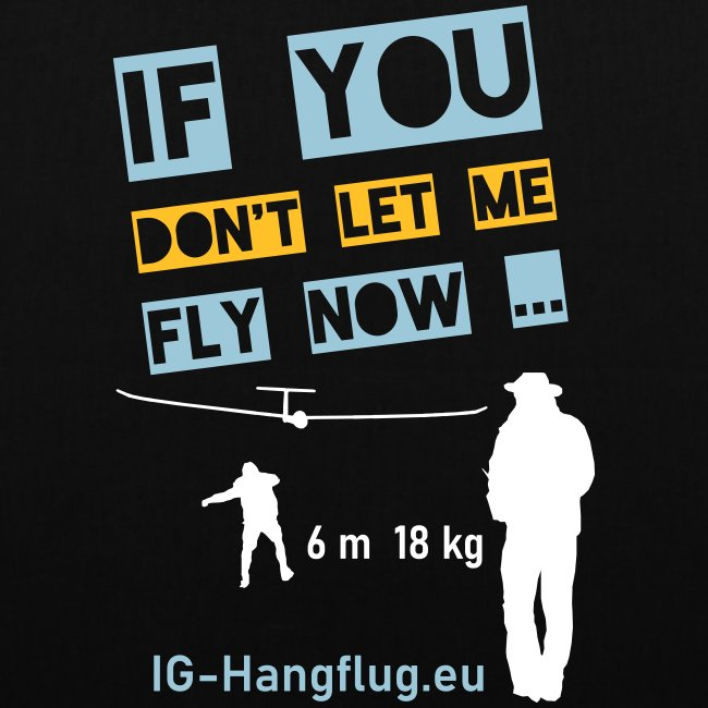 if you dont let me fly now ...