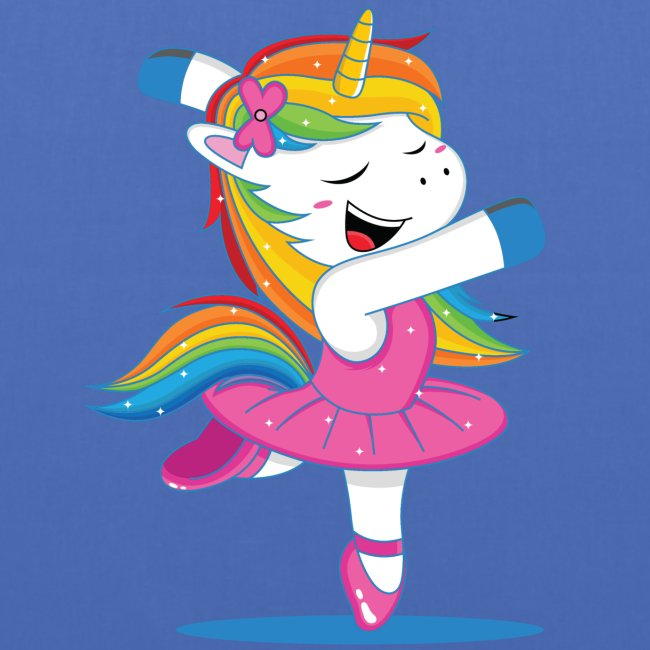 Einhorn Unicorn - tanzendes Unicorn Geschenkidee