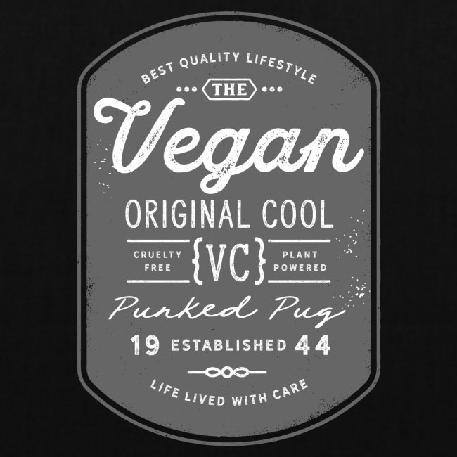 Vegan - The Original Cool Vintage Design