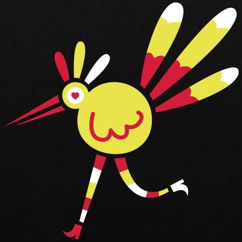 Pájaro Choguí - Bolsa de tela