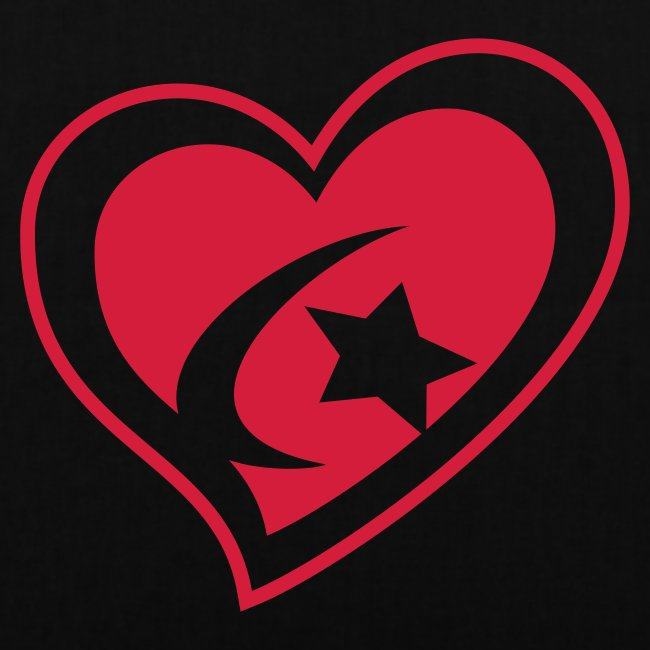 Red Star Heart