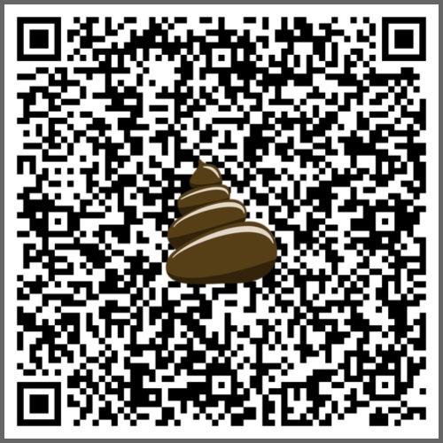 QR-kod bajshoroskop - Tygväska