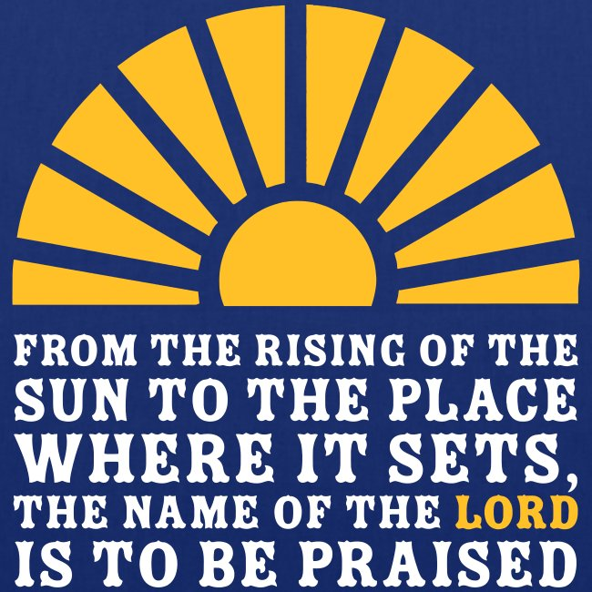 FROM THE RISING OF THE SUN