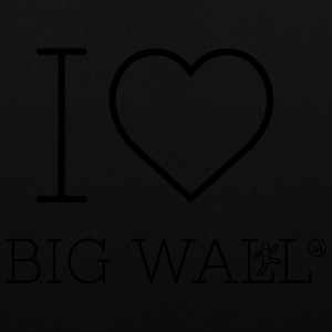 I love Big Wall - Tote Bag
