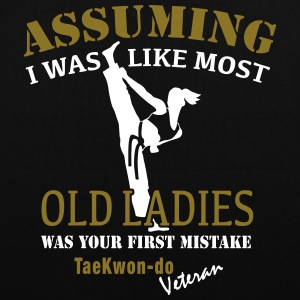 Tae Kwon Do Ladies Veteran - Stoffveske