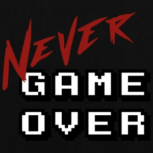 Big_Never_game_Over_white - Stoffveske