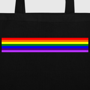 Bande arc en ciel/rainbow band - Tote Bag