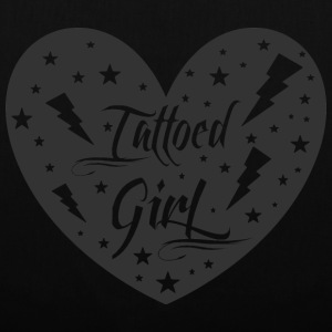 tattoed_girl - Tote Bag