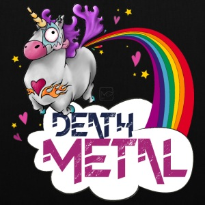 Death Metal Unicorn - Tote Bag