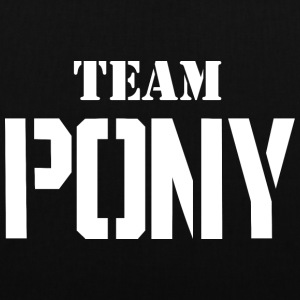 Team-pony - Borsa di stoffa