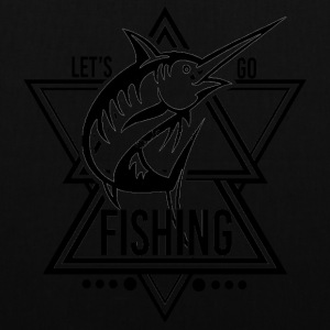Lets go Fishing - We love Fishing - Tote Bag