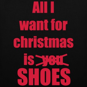 Christmas song saying shoes - Tote Bag