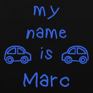 MARC MY NAME IS - Tote Bag