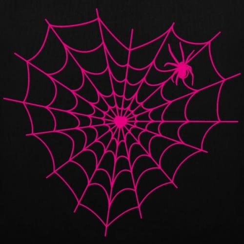 Spiderweb Heart - Tote Bag