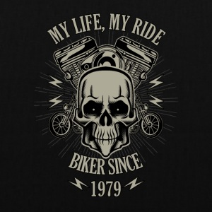 Gift for Biker - Year 1979 - Tote Bag