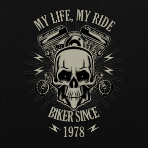 Gift for Biker - Year 1978 - Tote Bag