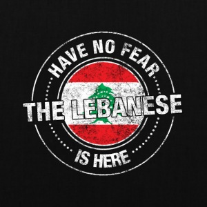 Avez-No Fear The Lebanese Is Here - Tote Bag